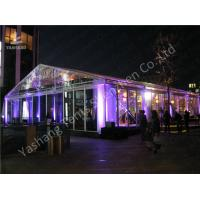Buy cheap 15x20M Transparent Cover Outdoor Party Tents Hard Extruded Aluminum Alloy product