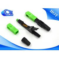 Buy cheap Fast Single Mode Fiber Connector For Active Device Termination product