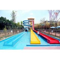 Buy cheap Stimulating Fiberglass Water Park Slide / High Speed Water Play Equipment For Adults product