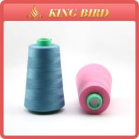 Buy quality Custom Spun Dyed Polyester Sewing Thread with Oeko tex standard 100 at wholesale prices