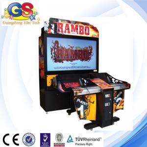 RAMBO shooting game machine arcade game machine