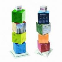 Buy cheap Revolving Magic Cubes Calendars, Customized Colors are Accepted product