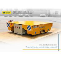 Buy cheap 100T electric powered indoor steel coil transfer car by remote control with Design Drawing product