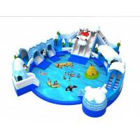 Buy cheap Amazing Aqua Park Equipment , Commercial Inflatable Water Park 22*20*6.5m product