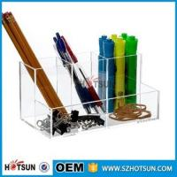 Buy cheap Hot Selling 2016 clear acrylic Desk Organizer Stationary Products product