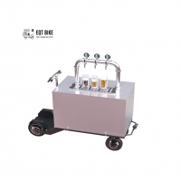 Buy cheap Beer Bike Mobile Kiosk Carts Electric Disc Brake Beer Scooter product
