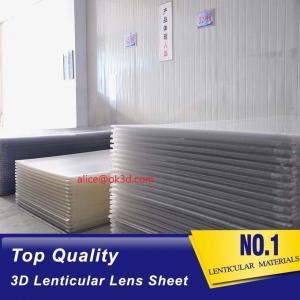Buy cheap China 3D Lenticular Lens Sheet clear PS Lenticular 20 lpi Lens Sheet 3MM flip Lenticular Lens Sheet factory product