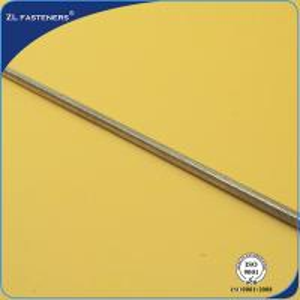 Buy cheap Anti Corrosive Long Threaded Rod , High Strength Threaded Rod Zinc Plated product