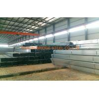 Buy cheap Schedule 30 Pre Galvanised Steel Pipe , Rectangular Steel Tube product