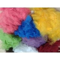 Buy cheap Solid Recycled Polyester Staple Fiber , High Tenacity Siliconized Polyester Fibre product