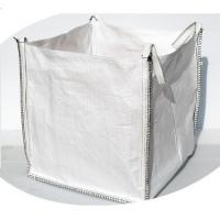 Quality Salt One Ton PP Bulk Bags FIBC Bags U Panel Type Flat Bottom 89 X 89 X 100cm for sale
