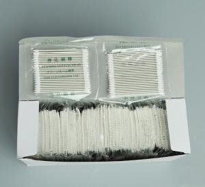 Buy cheap CS15-005 (Huby 340 BB-013) Cleanroom Cotton Swabs/cotton tip cleanroom swab/paper handle cleaning swab/huby cotton swab product