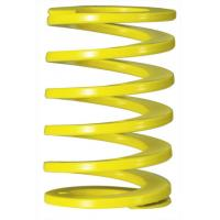 Yellow Rectangle Coil Injection Mould Spring , Industrial Overload Coil Springs