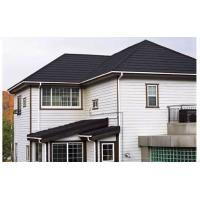 China Stone Coated Acrylic Roof Tiles , 0.4mm Thickness Color Coated Roofing Sheets on sale