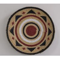 Buy cheap 100% handwoven hanging dectoration with rush and paper material,hot sale product