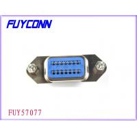 Buy quality 14 Pin Centronic PCB Straight Angle Female Connector Certified UL at wholesale prices