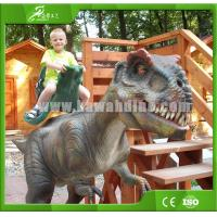 Buy cheap High quality Realistic Animatronic Walking Dinosaur for Kiddie Rides from wholesalers