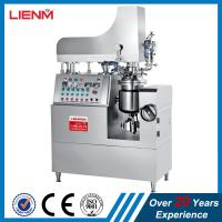 Buy cheap Small Capacity Cosmetic Vacuum Mixer Lab Costmetic Processing Plant Lab Cosmetic Mixing Tank product