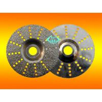 Buy cheap brazed diamond grinding disc from wholesalers