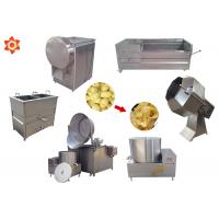 Buy cheap Industrial Small Scale Potato Chip Making Machine With 1 Year Warranty product