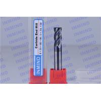 Buy cheap 4 Flute Extra Long Carbide End Mill Corner Radius 0.6 um Grain Size R0.5 Corner product