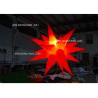 1000w custom inflatable lighting star Inflatable Lighting Decoration  for party wedding event decoration