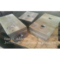 China SA182 F316 F304 SForged Steel Products Forgings Block Solution Milled And Drilling on sale