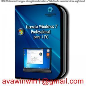 Buy cheap OEM Microsoft Windows 7 License Key For PC Windows 8.1 32/64 Bit OS Version product