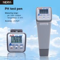 Buy cheap AZ8690 Portable Acidity Meter Water Quality Digital Ph Meter Handheld Precision Laboratory Industrial Test product