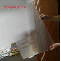 Buy cheap 3D effects lenticular sheet materials 25 lpi 4mm thickness lenticular for uv flatbed printer and inkjet print product