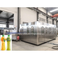 Buy cheap SS304 400BPM 200ml Enclosed Juice Filler Machine Line product