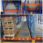 Buy cheap Custom Size Warehouse Pallet Live Racking Multi Function Powder Coating Finish product