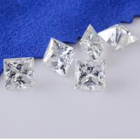 Buy cheap Genuine Loose Diamond Moissanite 1 Carat Moissanite Fancy Cut 6 Mm Super White product