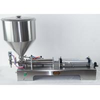 Buy cheap Steel Semi Automatic Filling Machine For Soda Sachet Coconut Mineral Water product