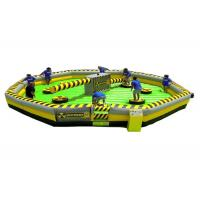 Buy cheap Popular Wipeout Challenge Inflatable Last Man Standing Game  Jump Sweeper product
