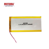 Buy cheap 3.7 Volt Lithium Ion Rechargeable Battery 2920mah For POS Device product