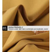 Quality NR Ponte De Roma Knit Fabric Rayon Spandex Knit Double Dyed Finishing for sale
