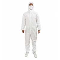 Buy cheap Disposable PP+PE Medical Isolation Gowns Elastic and Knitted Cuffs product