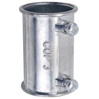 Buy cheap Zinc Die Casting Electrical Conduit Fittings 4 Inch EMT Coupling Set Screw Type product