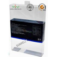 Buy cheap PET Plastic Garment Sleepwear Packaging Boxes Glossy Finished Varnish Film product