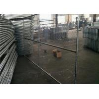 Buy cheap Vinyl Coated Temporary Chain Link Fence Galvanized Wire 50x50mm Mesh Size product