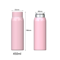 Buy cheap BSCI Anti Slip 15 Ounce Stainless Steel Vacuum Flask product