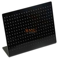 Buy cheap 12 Rows 20 Holes Black Acrylic Display StandsEarring Jewelry Holder product