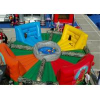 Buy cheap Bungee Run Inflatable Sports Games , Inflatable Assault Course Highly Participatory product