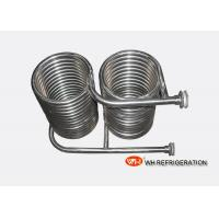 Buy cheap Seamless 316L Stainless Steel Coil Heat Exchanger OD 25 MM Tube Spiral Type product