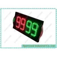 Electronic Football Double-sided Substitution Board with bright LED light