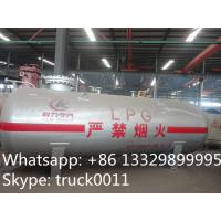 CLW brand bullet type 10,000L lpg gas storage tank for sale, ASME standard 10M3 bulk surface lpg gas tank for sale