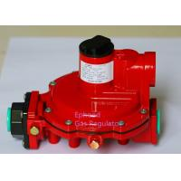Buy cheap Red Color Fisher R622H LPG High Pressure Gas Regulator Use For Cooking , Long Life product