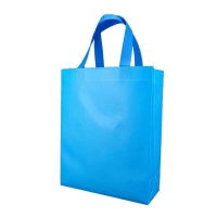 Tote Reusable Promotional Non Woven Shopping Bags 85gsm Folding Laminated for sale