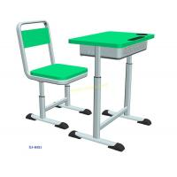 Buy cheap XJ-K021 HDPE lifting student study table and chair set for high school from wholesalers